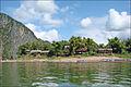 """La confluence de la rivière """"Nam Ou"""" dans le Mékong (Laos) (4330580678).jpg"""