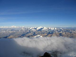 Labuche Kang mountain