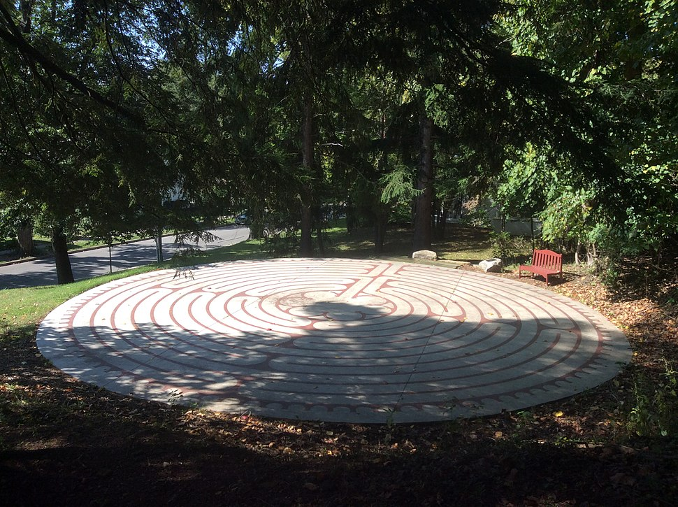 Labyrinth at the Open House