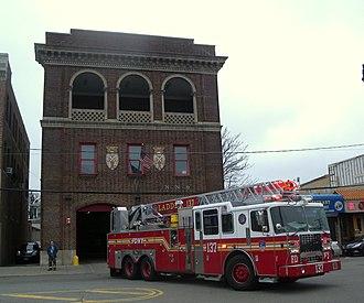 Rockaway Park, Queens - Local fire station