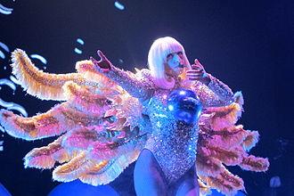 """Artpop (song) - Gaga performing """"Artpop"""" as the opening number of 2014's ArtRave: The Artpop Ball"""