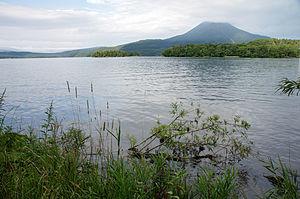 Mount Oakan - Lake Akan and Mount Oakan