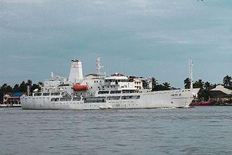 Colombo Dockyard - Lakshadweep built by Colombo Dockyard