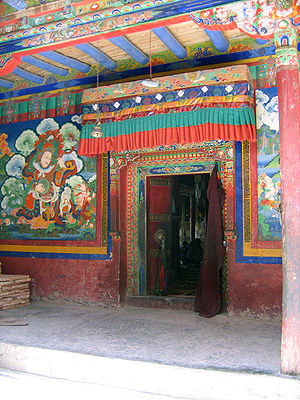 Tibetan Monasticism - Lamayuru monastery