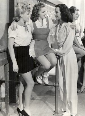 Ziegfeld Girl (film) -  Lana Turner, Judy Garland and Hedy Lamarr as three aspiring Ziegfeld girls