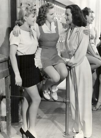 Ziegfeld Girl (film) -  Lana Turner, Judy Garland and Hedy Lamarr as three aspiring Ziegfeld girls
