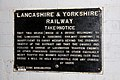 Lancashire and Yorkshire Railway cast iron bridge restriction notice National Railway Museum.jpg