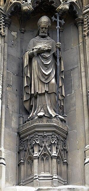 Lanfranc, Arzobispo de Canterbury