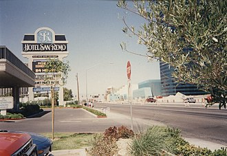 Hooters Casino Hotel - Old San Remo marquee