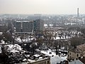 Latvijas Universitātes Akadēmiskā centra būvniecība. Construction works of Academic centre of University of Latvia. February, 2015 - panoramio.jpg
