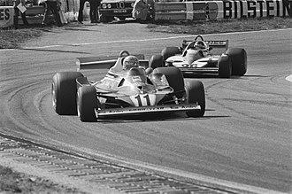 1977 Formula One season - Ferrari won the Constructors title with its 312T2 model