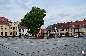 Leśnica - Main Square