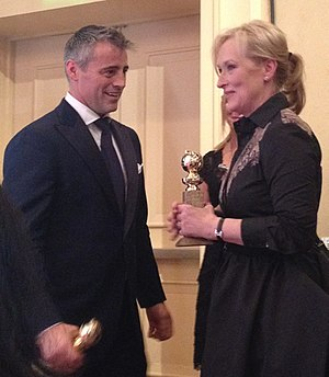 Matt LeBlanc - LeBlanc at the 69th Annual Golden Globes Awards, with Meryl Streep, on January 15, 2012.