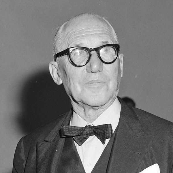 Architecte connu - Le Corbusier