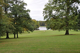Bois de la Cambre park in Brussels, Belgium