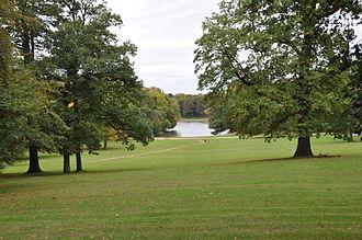 Bois de la Cambre - Image: Le bois de la Cambre et le lac