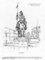 Le monument Esterhazy - Chevalier - Le Sifflet - 1898.png