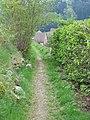 Le petit sentier entre le cimetière et l'étang de pêche - panoramio.jpg