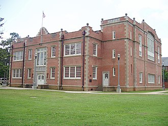 National Center for Preservation Technology and Training - NCPTT offices are located in Lee H. Nelson Hall, a property listed on the National Register of Historic Places