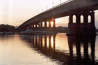 Omsk - Leningrad bridge over the Irtysh