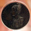 Leone leoni, medaglia di ippolita gonzaga, 1557, 01.jpg