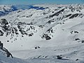 """Les 3 Vallées, Glacier du Bouchet ) Seilrutsche """"La Tyrolienne"""" - La Tyrolienne Val Thorens - panoramio.jpg"""