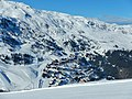 Les 3 Vallées, View to Meribel-Mottaret - panoramio.jpg