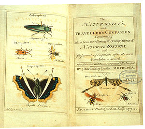 John Coakley Lettsom - The naturalist's and traveller's companion, 1774