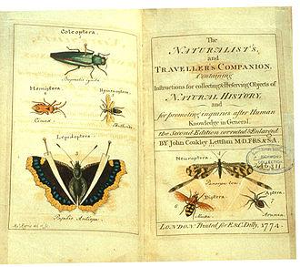 John Coakley Lettsom - The naturalist's and traveller's companion, 1774