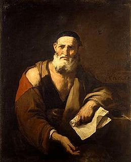 Leucippus Ancient Greek scholar