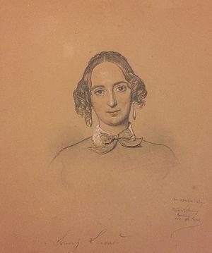 Fanny Lewald - Fanny Lewald (1848)