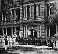 Liliuokalani leaving Aliiolani Hale in 1893.jpg