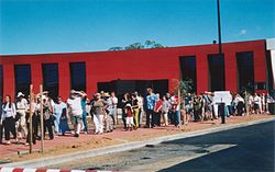 Lineup in front of AIATSIS building.jpg