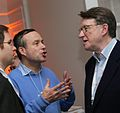 Lionel Barber, FT editor & Peter Mandelson, British Labour politician (8415175142).jpg