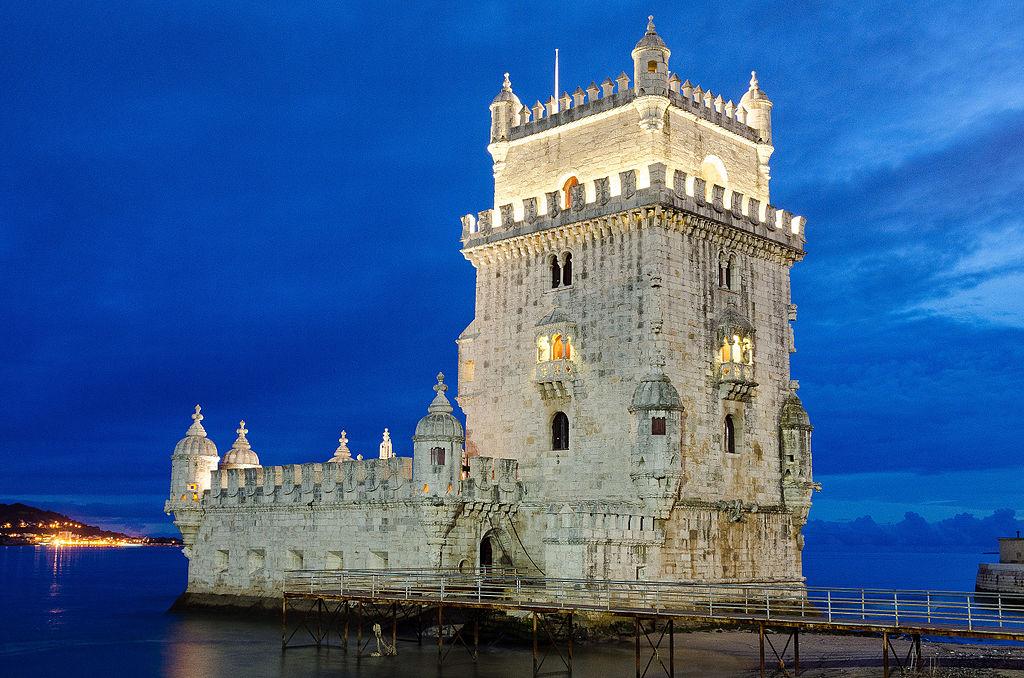 Tour de Belem à Lisbonne en soirée - Photo de Sandra Vallaure