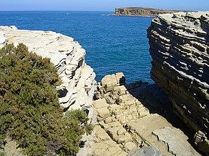 Litoral da península de Peniche (Portugal)