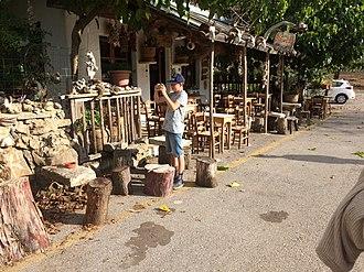 "Kallikratis - ""Little Cafe"", Kallikratis, Crete"