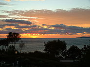 Little Traverse Bay at sunset