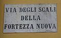 Livorno Via degli Scali della Fortezza Nuova street name 01.JPG