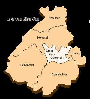 Birkenfeld (district) - Image: Lk bir
