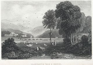 Llanilltyd vale & bridge: near Dolgelley