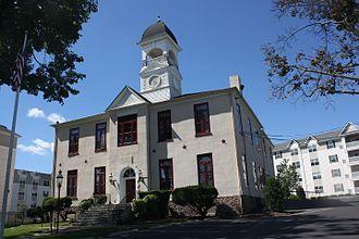 Hatboro, Pennsylvania - Hatboro Borough Hall, formerly Loller Academy