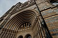 London - Cromwell Road - Natural History Museum 1881 by Alfred Waterhouse - View Up at the Entrance on the Terracotta Tiled Façade III.jpg