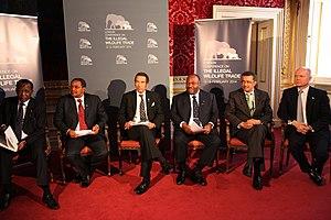Ian Khama - Khama at the London Conference on The Illegal Wildlife Trade.
