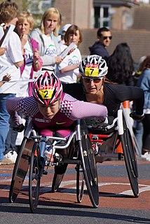Wakako Tsuchida Japanese Paralympic wheelchair racer