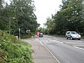 Looking up the A3 towards Hindhead from Crossways Road - geograph.org.uk - 931002.jpg