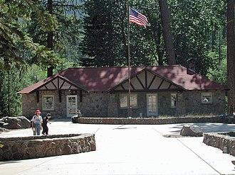 Manzanita Lake Naturalist's Services Historic District - Loomis Art House