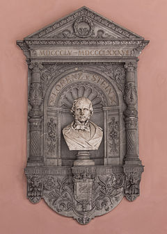 Lorenz von Stein (Nr. 15) - Bust in the Arkadenhof, University of Vienna - 0269.jpg