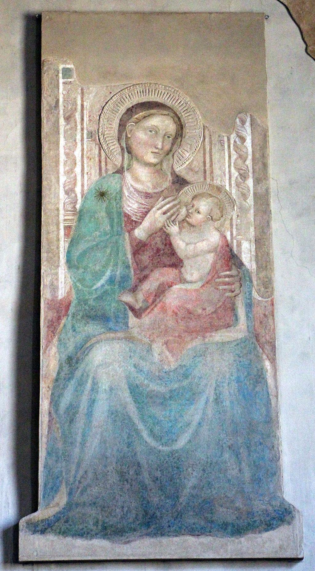 Lorenzo di bicci, affreschi del tabernacolo del madonnone, 02