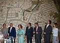 Los Reyes de España en el Pabellón de Zaragoza en la Expo 2008.jpg